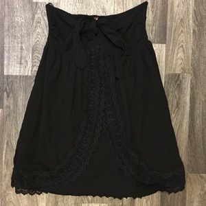 NWOT Free People Strapless Lace Detail Sundress